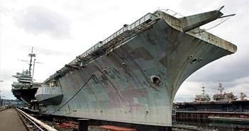 Chuyến hải trình cuối cùng của tàu sân bay Mỹ tham chiến ở VN