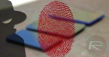 Dùng máy in phun lừa cảm biến vân tay trên smartphone