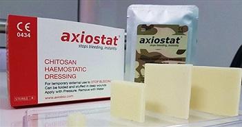 Axiostat - Băng gạc giúp liền vết thương hở cực kỳ hiệu quả sử dụng trong quân đội