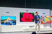 Samsung chính thức ra mắt các dòng sản phẩm TV QLED 2018