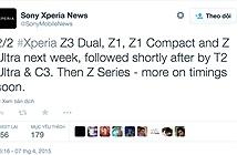Một loạt thiết bị của Sony được nâng cấp lên Android 5.0.2