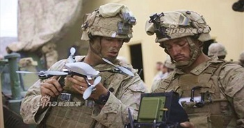 Lạ lùng: Quân đội Mỹ bắt chước IS cách dùng Flycam