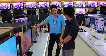 Thị trường TV ảm đạm trước mùa World Cup