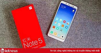 Mức giá chính hãng quá tốt của Redmi Note 5 tại VN như đặt dấu chấm hết dành cho hàng xách tay