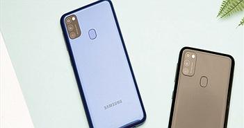 Mở hộp Galaxy M21: 3 camera 48MP và pin 6000mAh