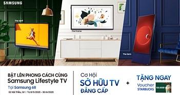 """Samsung công bố chương trình """"Bật Lên Phong Cách Cùng Samsung Lifestyle TV"""""""