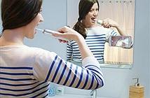 Bàn chải đánh răng cũng tích hợp camera