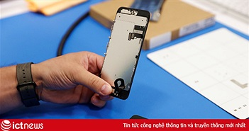 Lần đầu tiên, Apple chia sẻ cỗ máy sửa màn hình iPhone tuyệt mật cho người ngoài