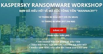 Kaspersky tập huấn phòng chống mã độc tống tiền WannaCry cho doanh nghiệp Việt Nam