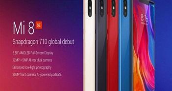 Xiaomi Mi 8 SE lên kệ giá 6,45 triệu đồng, iPhone SE 2 hết cửa