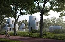 Xây cụm nhà ở bằng công nghệ in 3D đầu tiên trên thế giới ở Hà Lan