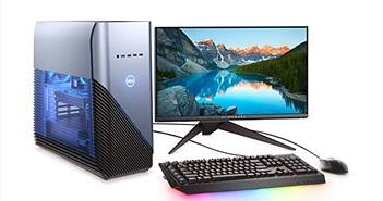 Dell ra mắt máy tính gaming để bàn Inspiron 5676 sử dụng chip AMD Ryzen