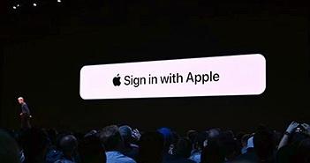 Apple nhắm thẳng vào Google và Facebook bằng công cụ 'Sign in with Apple'
