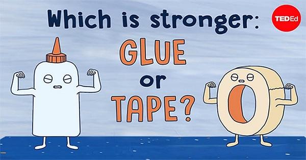 Hồ dán và băng keo cái nào chắc hơn?