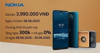 Nokia 5.3 lên kệ tại Việt Nam giá 4 triệu