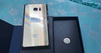 Bán Galaxy Note Fan Edition xách tay, có nơi cam kết bảo hành nếu... nổ pin