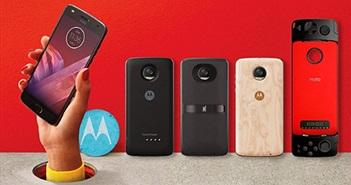 Smartphone biến hình Moto Z2 Play về Việt Nam tháng 7