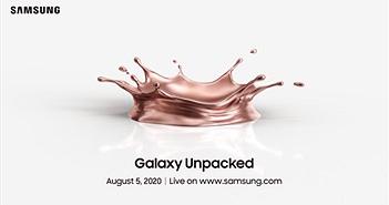 Samsung sẽ 'mở hộp' Galaxy Note 20, Z Fold 2, Z Flip 5G vào ngày 5/8?