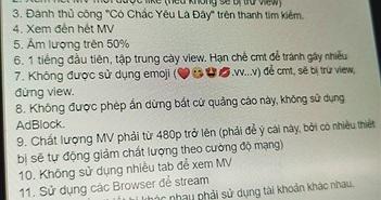 Chiêu trò 'cày view' YouTube kỳ lạ của fan Sơn Tùng M-TP