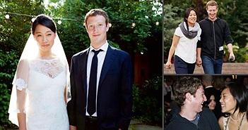 Chuyện tình yêu lãng mạn của CEO Facebook