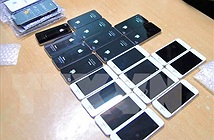 Liên tiếp phát hiện số lượng lớn điện thoại di động cũ nhập lậu