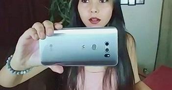 LG V30 vô tình lộ ảnh thực tế: Màn hình P-OLED, camera kép khẩu độ f/1.6