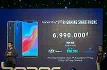 Smartphone chuyên chơi game Honor Play ra mắt thị trường Việt giá 7 triệu đồng