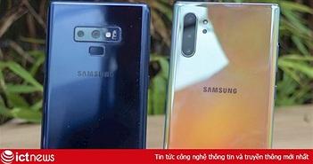 So sánh Galaxy Note 10 và Galaxy Note 9: Có đáng để nâng cấp?