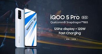 Smartphone Vivo iQOO 5 sạc 120W, màn hình 120 Hz chuẩn bị lên kệ, giá liệu có rẻ?