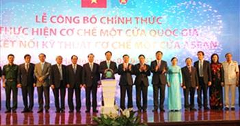 Chính thức kết nối kỹ thuật Cơ chế một cửa ASEAN