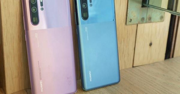 Ngất ngây trước ảnh thực tế 2 màu mới của Huawei P30 Pro