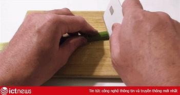 Hoảng hồn khi thẻ Apple Card bỗng nhiên bị độ chế thành...dao thái thịt, gọt hoa quả