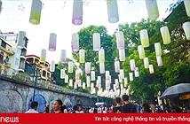 Phố đèn lồng soán ngôi Hàng Mã thành nơi check-in mới dịp Trung thu