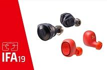 Audio-Technica ra mắt hai mẫu earbuds mới, driver màng kép PEEK-TPU, pin tổng gần 4 ngày