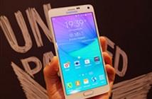 Giá Samsung Galaxy Note 4 xách tay vẫn gần bằng iPhone 6