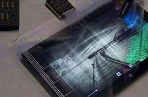 Microsoft trình diễn loại giấy bóng kính thông minh