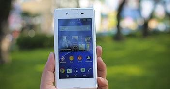 Trên tay Sony Xperia E3 - Nâng tầm smartphone giá rẻ