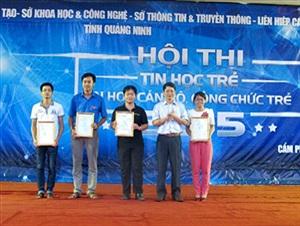 Phần mềm hỗ trợ ĐH Đảng vào vòng chung khảo hội thi tin học công chức