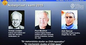 Nobel Hóa học cho 'cơ chế bảo vệ sự sống