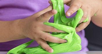 """Nguy cơ nhiễm trùng da khi dùng """"đồ chơi ma quái"""" Slime"""