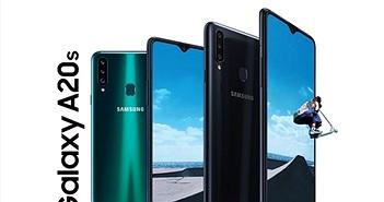 Samsung giới thiệu Galaxy A20s tại Việt Nam: 3 camera, sạc nhanh, giá 4,39 triệu đồng