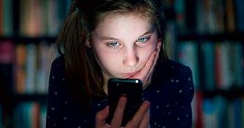 """Tác động gây """"sốc"""" của smartphone tới trẻ em"""