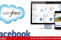 Facebook và Salesforce tiếp tục hợp tác để chống lại Microsoft Office và Google