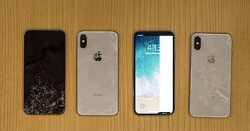 iPhone X là thiết bị dễ vỡ nhất trong lịch sử