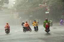 Thêm không khí lạnh gây mưa rất to từ Nghệ An đến Quảng Nam