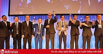 Bộ Tài chính, UBND tỉnh Quảng Ninh, Đại học FPT và MISA nhận giải thưởng ASOCIO 2018