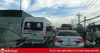 Kẹt xe nội đô góp phần làm tăng chi phí vận chuyển tại Việt Nam