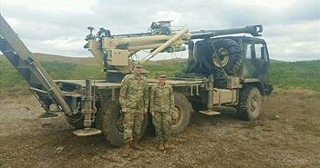 Mỹ thử nghiệm pháo tự hành 155mm bánh lốp đọ sức với Nga?