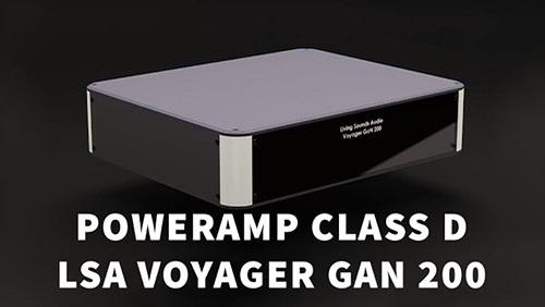 LSA Voyager GAN 200 – Poweramp Class D dùng khuếch đại FET Gallium Nitride