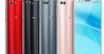 Huawei Nova 2S ra mắt: 4 camera, thiết kế cao cấp giá từ 408 USD